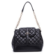 wholesale stock genuine leather Diamond building line handbags/embroidered shoulder bag