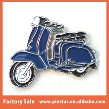 factory directly hot selling Blue Lambretta Scooter- Mod Enamel Lapel Pin Badge metal scooter badge