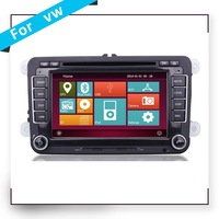 In dash entertainment Car audio stereo system DVD player for VW