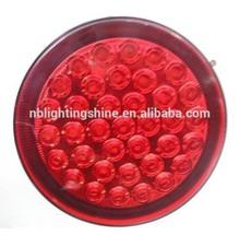 USA 4 inch round LED truck trailer tail Light 12v led tail light for trucks 24v LED Bus Truck Tail Indicator Light