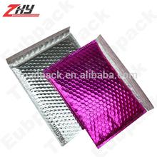 Silver/Pink Metallic Bubble Mailer/Envelope