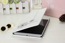 For real leather ipad case,for ipad mini case , dandelion design case for ipad mini