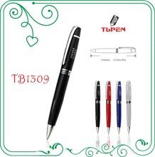 black color metal copper barrel ball pen,smooth writing ink refill