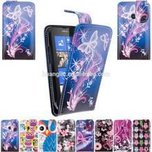 Flip Folio Pu Leather For Nokia Lumia 520 PU Leather Case Cover