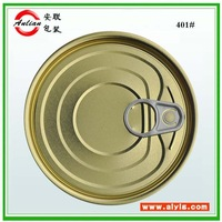 accept custom order and food industrial use 16oz tin canned packing easy peel off lid for food can