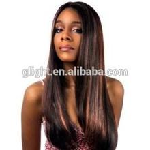 Brazilian straight long virgin hair dark with brown popular style