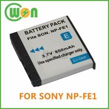 NP-FE1 Camera Battery for Sony Cyber-shot DSC-T7 DSC-T7/B DSC-T7/S