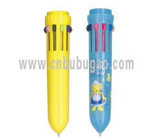 short promotional pens with colors ,promotional multi-color ballpen