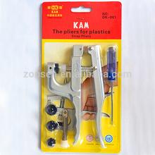 Wholesale KAM Brand Aluminum Alloy Press Pliers Tools,Plastics Snap Pliers For Plastics Snap Buttons ( T3&T5&T8 )