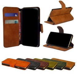 Suede Flip Leather Case,Book Leather Case For Sony Xperia M2 Aqua