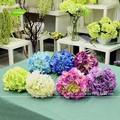 Gnw FLH02 centros de mesa Bouquets de casamento artificiais arranjo de flor hortênsia GuangZhou fábrica