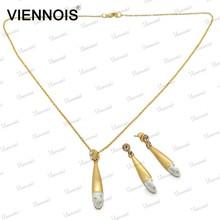 2015 Viennois original gold plating wedding jewellery designs