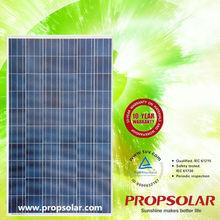 25 years Warranty 250w high watt power solar panel
