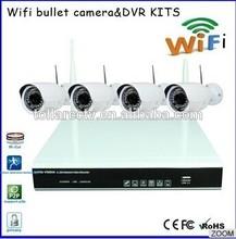 Cctv surveilance camera kit full wifi ip camera wireless with nvr kit wireless 720P video cameras
