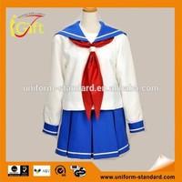 School Uniform Factory wholesale school high quality sample school logos