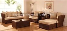 2014 New Product Modern Used Wicker Garden Furniture Design Rattan garden furniture