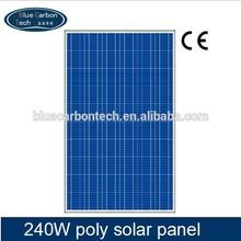 High Quality Solar Module 18v 240 watt Poly Solar Panel