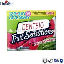 sweet watermelon sugar free chewing gum