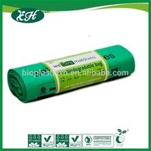 EN13432 and ASTM D 6400 eco friendly biodegradable caddy bag