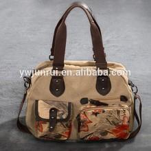 2014 china koreans style lady canvas ethnic tribal handbags