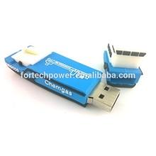 China supplier ship shape usb memory 8gb