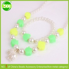 many designs costume child chunky kids necklace accessories for girls