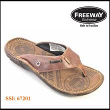 Freeway Brazilian Leather comfort Thong sandal