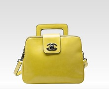 2015 Ladies Woman Famous Brand Tote Bag Contrast Color Female Bag