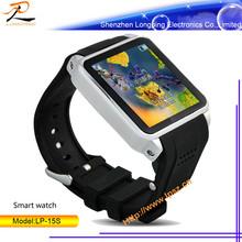 Promotion model! 1.54inch bluetooth pebble smart watch 2015