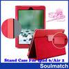 Stand Case For Ipad 2/3/4/5/6,for ipad air 2/6 case,for ipad leather case