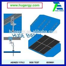 Solar PV Aluminum Roof Mount Bracket Easy Installation