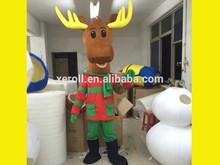 caliente venta de navidad para adultos traje de renos