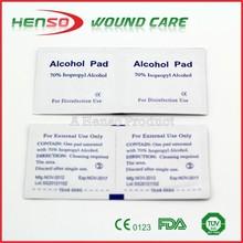 HENSO 70% Isopropyl Alcohol Pad