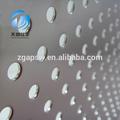 Con ranuras agujero perforado paneles/hoja/placa/junta de metal de alta calidad