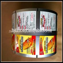Best price yogurt cup laminated and printed lldpe/al/pet film