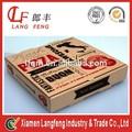 especializada na produção de alimentos impresso congelada grau retangular caixa de pizza
