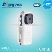 1.3MP HD Shirt Button WIFI Wireless Video recording pinhole IP Camera