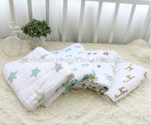baby muslin cotton blanket swaddle blanket