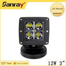 jeep truck, agricultural, machine, heavy duty, boat, marine 12w off road lights led