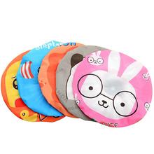 custom polyester wholesale children shower cap