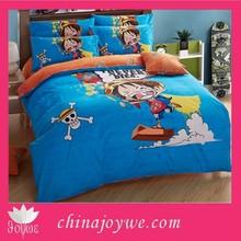 3D Single Bed Quilt/Doona/Duvet Cover Set 3pcs Cotton Kids Bedroom Set