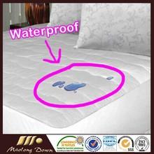 100% Cotton Waterproof Mattress Protector Mattress Cover Mattress Pad Queen