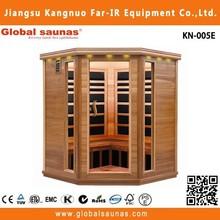 hot sale full hd seks tv sauna infrared radiant heaters sauna room KN-005E