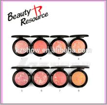 Soft permanent color blush