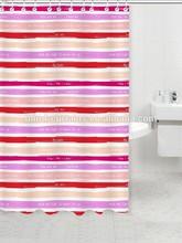 Waterproof and anti-mildew grommet shower curtain
