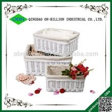 Wholesale ikea rectangular wicker storage basket