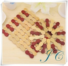 2014 the hottest factory bamboo heating coasters, warehouse coaster cheap price