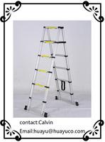 EN131 Aluminum Telescopic ladder step/folding/liftings/attic ladder