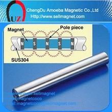 Strong bar magnet for drawer