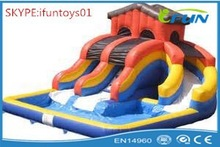giant inflatable pool slide for adult / inflatable pools with slide / inflatable pool slide